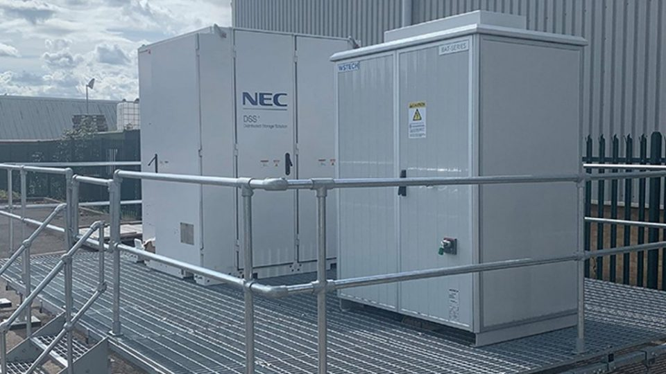 Digital Space invests in pioneering battery energy storage system