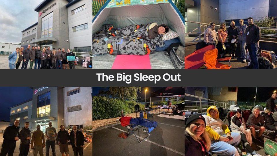 Big Sleep Out challenge raises £3,300 for charity