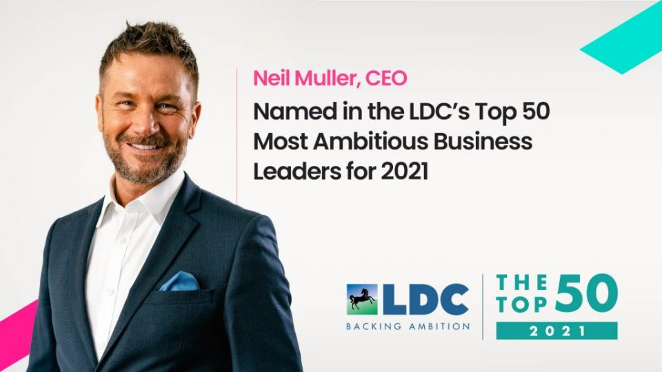 Digital Space's CEO named in UK's Top 50 Most Ambitious Business Leaders for 2021
