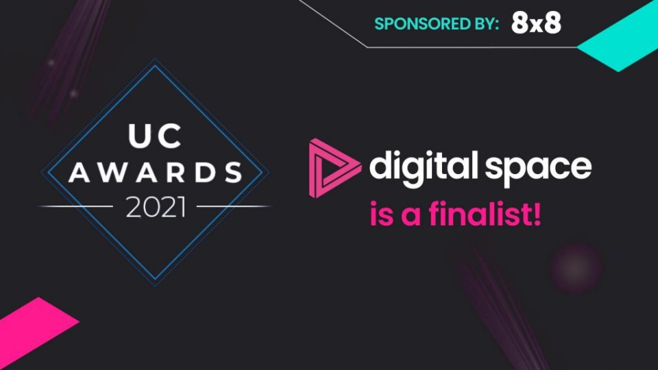 Digital Space announced as finalist in UC Partner Awards 2021